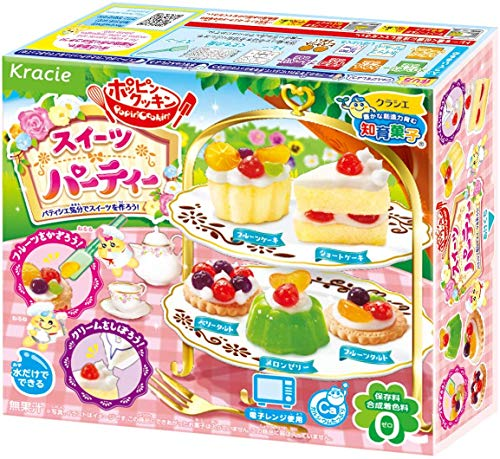 Popin' Cookin' Kracie DIY kit Sweets party