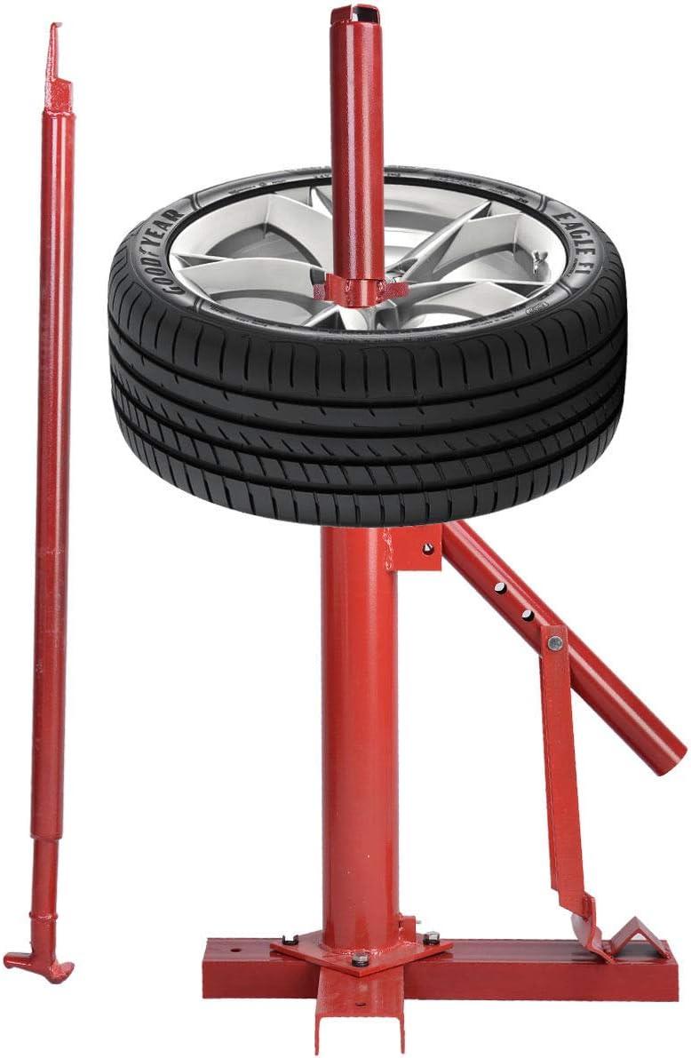 COSTWAY Cambiador Desmontador de Neumáticos Manual