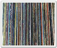 JPロンドンPOSLT2264 uStrip Liteリムーバブル壁紙デカールステッカー壁画ビニールレコードスリーブ音楽男、24インチX 19.75インチ