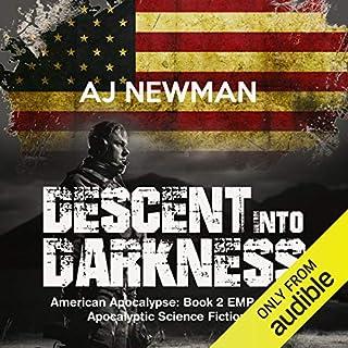 Descent into Darkness audiobook cover art