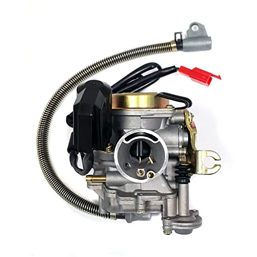 Performance Adjustable CARBURETOR with electric choke for 50cc 80cc GY6 Engines