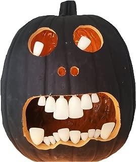Buck Bright White Pumpkin Teeth (18 per package)