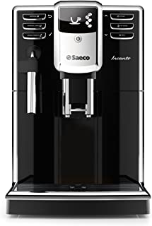 Saeco HD8911/48 Incanto Classic Milk Frother Super Automatic Espresso Machine with AquaClean filter, 1.8 L, Black