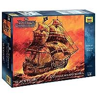 """Zvezda 1/72 Pirates of the Caribbean """"Black Pearl"""" Captain's Jack Sparrow Ship # 9037 by Zvezda [並行輸入品]"""