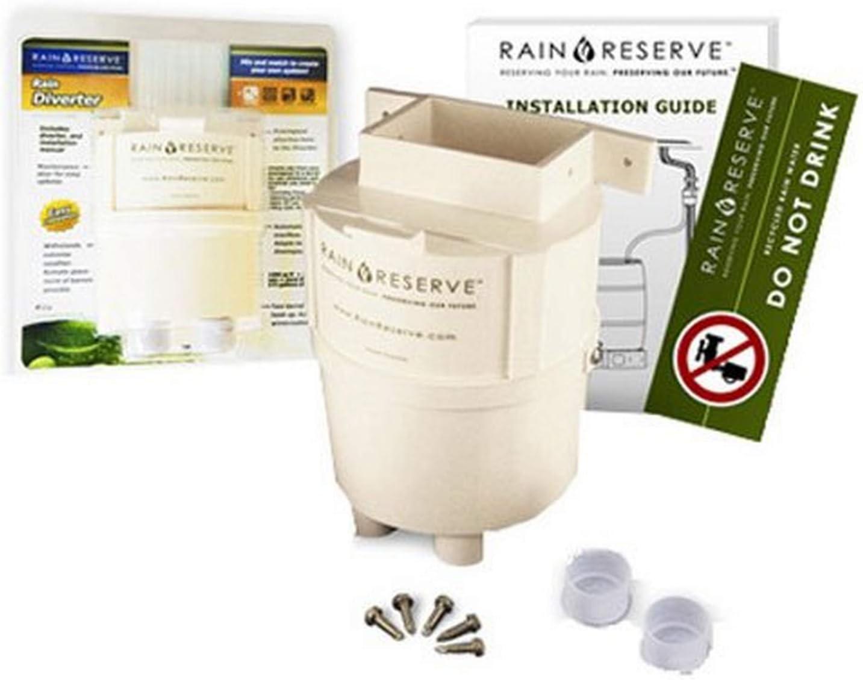 Rain Reserve 2012315 Barrel Regular store Special Campaign Diverter white Weathervane
