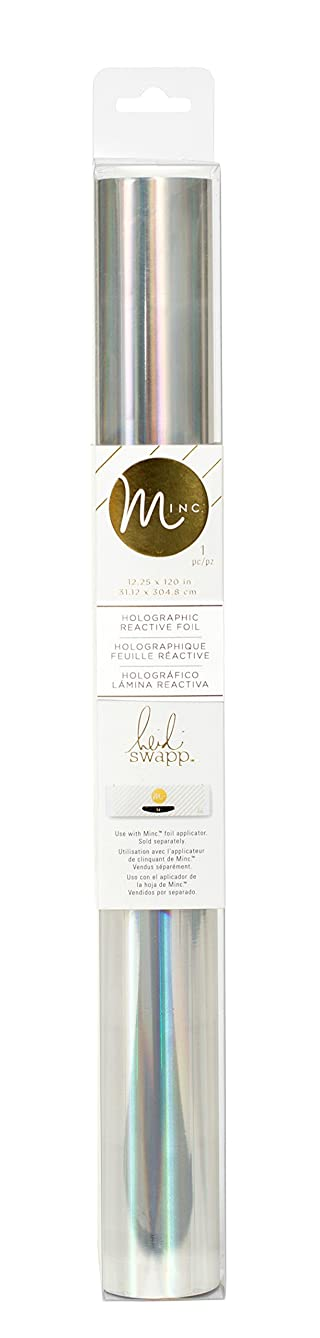 Heidi Swapp MINC Application Machine Reactive Foil by American Crafts | Holographic Foil Roll | 12 x 120-inch