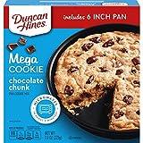 Duncan Hines Mega Cookie Chocolate Chunk Pan Cookie Mix, 7.8 Oz