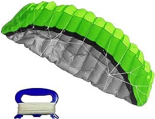 Cadeau denfants bfh 15m Cerfs-Volants De Serpent Sports De Vol De Rod FRP Activit/é Sportive De Plein Air en Famille Kitesurf De Plage