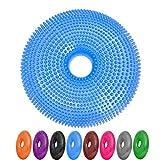 Ballsitzkissen mit Loch »Donut« inkl. Pumpe (ca. 140kg Maximalgewicht) / luftgefülltes Sitzballkissen, Luftkissen & Gleichgewichtskissen