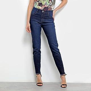 Calça Jeans Skinny Forum Marisa com Franja Feminina