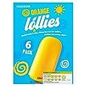 Morrisons Orange Flavour Ice Lollies, 6x73ml (Frozen)