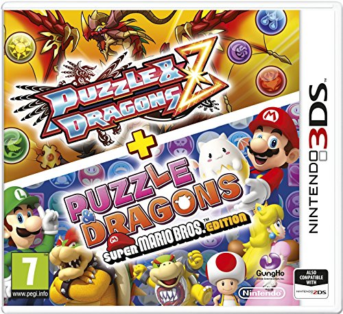 3Ds Puzzle & Dragons Z + Puzzle & Dragons Super Mario Bros. Edition (Eu)