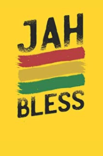 Jah Bless: Blank Lined Notebook for Rasta | 6x9 Inch | 120 Pages