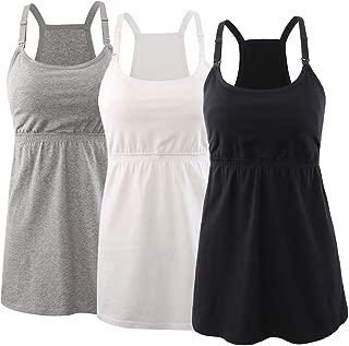 Maternity Nursing Top Tank Cami, Women Maternity Nursing Sleep Bra Breastfeeding Tops for Pregnancy