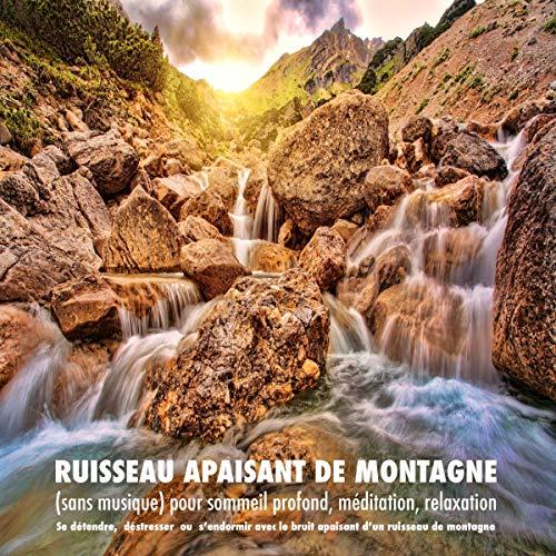 Ruisseau apaisant de montagne (sans musique) pour sommeil profond, méditation, relaxation  By  cover art
