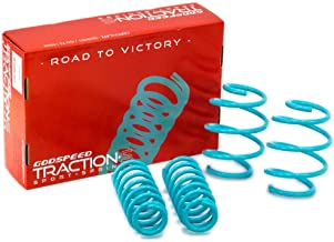 Godspeed LS-TS-KA-0001 Traction-S Performance Lowering Springs, Reduce Body Roll, Improved Handling, Set of 4
