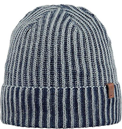 Barts Denver Beanie Bonnet Cap Bleu Foncé