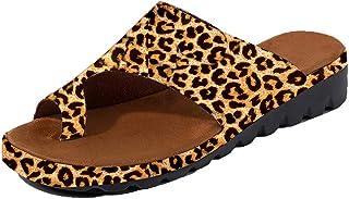 17c77d70c5cb1e DoGeek Chaussure ete 2019 New Femmes Sandales Comfy Plates Beach Travel  Shoes Semi Trailer Sandals