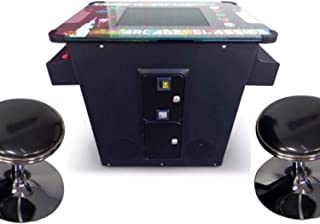 Secret Level Arcades Cocktail Table Classic Arcade Machine with 60 Games Free STOOLS