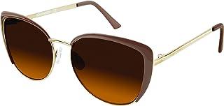 Southpole Women's 446sp-Gldnd Cateye Sunglasses, Gold/Nude, 56 mm