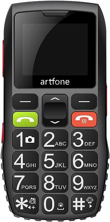 Cellulare per anziani con tasti grandi, funzione sos artfone c1 Artfone-C1