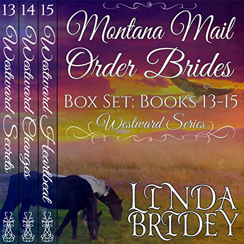 Montana Mail Order Bride Box Set, Books 13 - 15 audiobook cover art