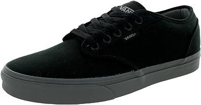 Amazon.com | Vans Men's Atwood (Check Liner) Black/Gray Skate Shoe ...