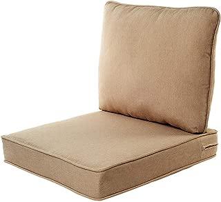 Quality Outdoor Living 29-BG02SB Chair Cushion, 23