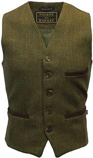 Walker & Hawkes - Men's Tweed Waistcoat Vest Formal Teflon Dress Gilet
