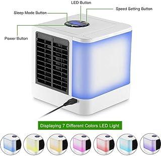 N-A Enfriador de Aire Arctic Air Personal Space Cooler La Forma rápida y fácil de Enfriar Cualquier Espacio Aire Acondicionado Dispositivo de Ventilador Escritorio de Oficina en casa