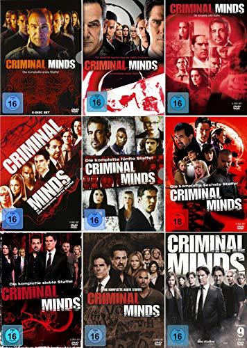 Criminal Minds - Die komplette 1. - 9. Staffel (51-Disc | 9-Boxen)