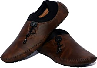 Havisha Loafer Shoes for Men Latest (Brown)