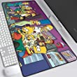 Erweiterte Gaming Mouse Pad Simpson Familie Große