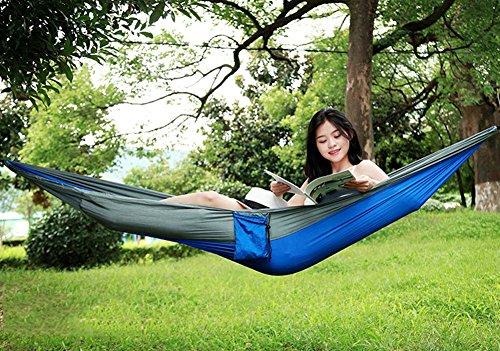 QAZSE Simple Double Loisirs Outdoor Hamac Parachute Tissu,Style-Size,230cm*90cm-c