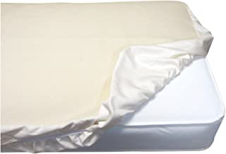 Naturepedic Organic Cotton Oval Fitted Waterproof Pad