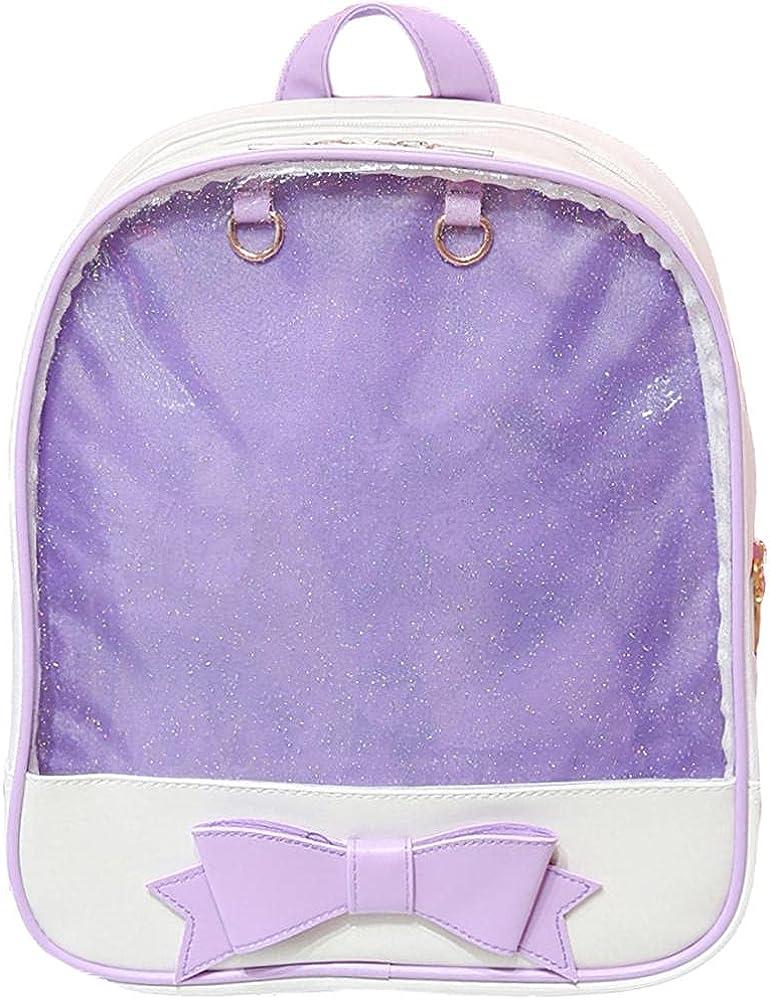 Ita Bag Fashion Bow Clear backpack Crossbody Bag Shoulder Bag Purse Lolita JK Bag Anime Bag for girls