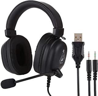 $72 » DingdingCat Dual 3.5mm + USB Interface Wired Gaming Headset