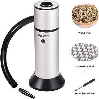 TMKEFFC Portable Smoker Gun, Handheld Smoke Infuser for Cocktail Food Drink Smoking, Enhance...