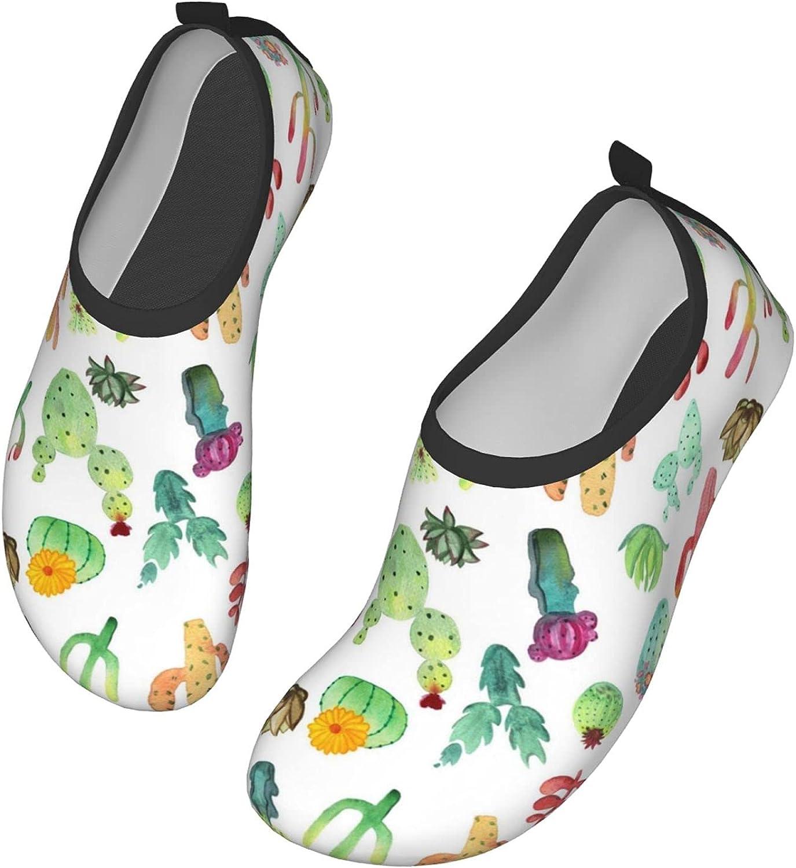 NEWKOW Aqua Shoes Water Socks for Women & Men for Yoga Pool Barefoot River Swim Beach
