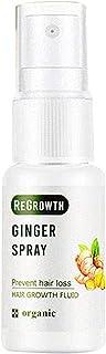 kelebin Regrowth Ginger Spray for Thicker Hair or Fuller Beard Prevent Hair Loss Moisturizes Repairs Hair