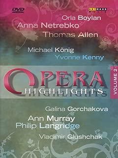 Opera Highlights Vol. II - Ariodante, Billy Budd, The Fiery Angel, Xerxes, Peter Grimes, Cunning Little Vixen, Giulio Cesare, Eugene Onegin, Ruslan and Lyudmlla