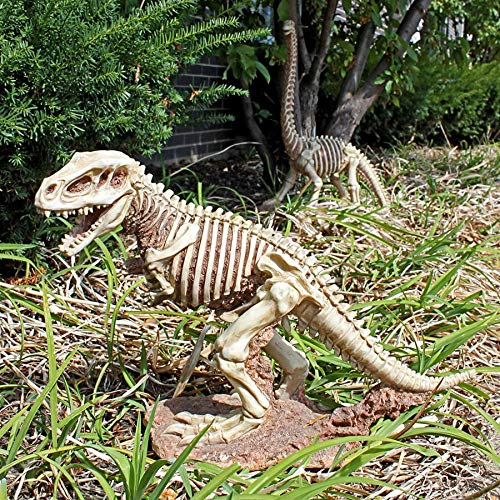 Design Toscano JQ6481 Bad to The Bone Jurassic T-Rex Statue, Full Color Finish