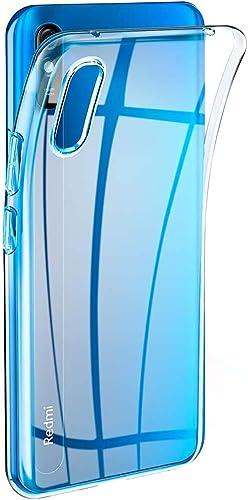 Casotec Soft TPU Back Case Cover For Mi Redmi 9A Clear