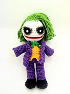 Joker amigurumi Joaquin Phoenix version The joker crocheted