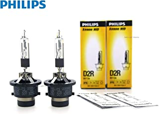 PHILIPS D2R 4300K OEM Replacement HID XENON bulbs 85126 35W DOT Germany - Pack of 2 by ALI