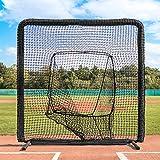 Fortress Pro Baseball Sock Net Screen [Nimitz Edition] | 7ft x 7ft | Galvanized Steel Frame