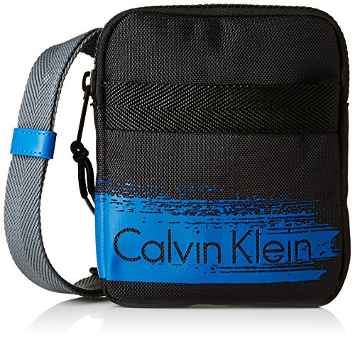 Calvin Klein Damen Tasche Cooper Mini Flat Crossover 1 Pack, schwarz, größe OS