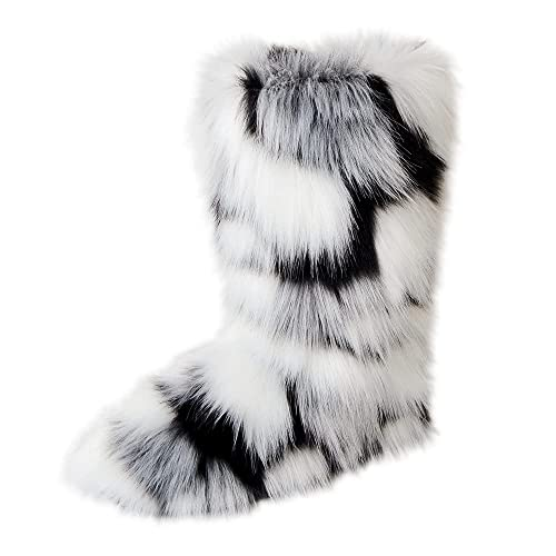 Fluffy Fur Boots