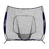 Summates Baseball and Softball Practice Net 7 x 7ft (Black)