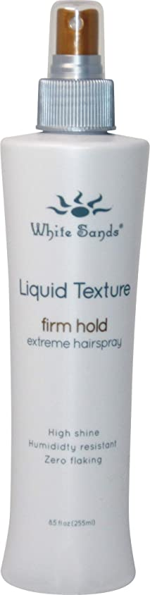 サービス悔い改める水White Sands 液体テクスチャ当社は、ホールド非エアゾール髪は、ブロー乾燥用の最大ボリューム8.5オンスと熱保護スタイリングスプレーと企業ホールドのスタイル 8.5オンス